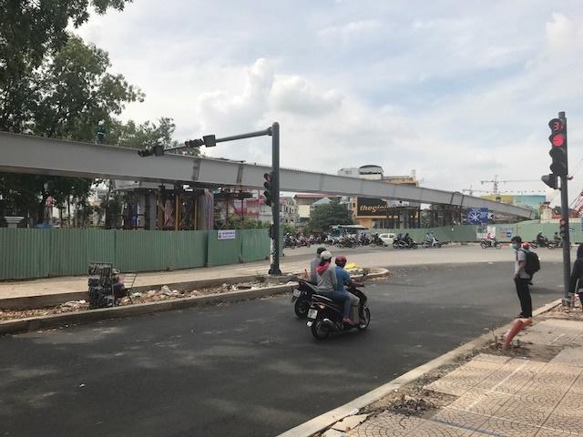 Công trình cầu vượt thép tại nút giao Nguyễn Thái Sơn – Nguyễn Kiệm TP.HCM